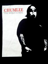 Chumlee The World Is Mine Austin Russell History Channel Pawn Stars TV TShirt XL