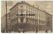 alte Ak Hannover, Café Wien Berlin, Theaterplatz, Bank Filiale