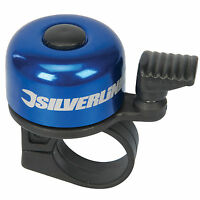 Silverline One Touch Ping Bicycle Bell Bike Handlebar Bell Cycle