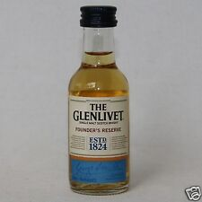 The Glenlivet Foundr's  Reserve Single Malt Whisky 40% 50ml Mini