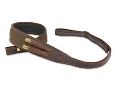 Neoprene & Leather Rifle Sling with Ammunition Holder, Gun Shotgun Strap Hunting