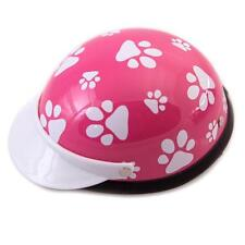 NEW! Dog's Helmet-Biker-Costume-Pink Pawz-For Small Pets 5-10 lbs-Ship From USA