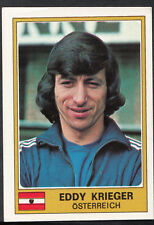 Football Sticker - Panini Euro Football 1976 - No 222 - Eddy Krieger - Austria