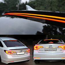 Rear Roof Emitting LED Wide Long Lamp Spoiler For HYUNDAI 2015 - 2016 LF Sonata