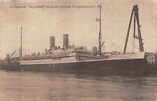 BF37137 le paquebot flandre de la generale cie transatlantique Boat Ship Bateaux
