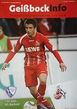 Geißbock Info 2009/10 1. FC Köln - VfL Bochum