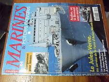 µ? Revue Marines guerre & commerce n°64 Debarquement pour Anvers Le Jules Verne