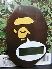 A Bathing APE 2011 Bape Wall Clock with Box and Magazine