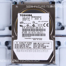 "TOSHIBA (MK8026GAX) 80 GB HDD 2.5"" 16 MB 5400 RPM IDE Laptop Hard Disk Drive"