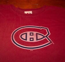 VINTAGE STYLE MONTREAL CANADIENS NHL HOCKEY T-Shirt XL NEW