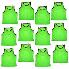 12 Jersey practice uniform pinnie pennie lacrosse field hockey ADULT GREEN