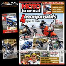 MOTO JOURNAL N°1853 BMW R 1200 GS K 1300 S HONDA RC 30 24 HEURES DU MANS 2009