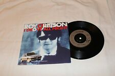 Roy Orbison Import 45 & Picture Sleeve-I DROVE ALL NIGHT/CRYING  STEREO PEUGEOT