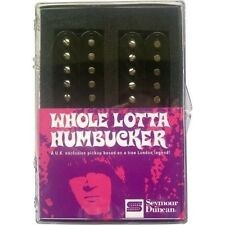 Seymour Duncan Whole Lotta Humbucker Pickup Set Black SH-18s HB BLK Sealed Box