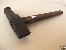 (n°70 ) old tool, outil ancien, marteau de forgeron , hammer, étampe, forge