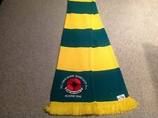 MANCHESTER UNITED EMBROIDED POPPY SCARF. LEST WE FORGET.LTD EDITION..FREE POST