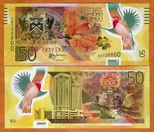 Trinidad and Tobago, 50 dollars, 2014, P-NEW, POLYMER, UNC   Commemorative CB