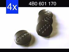 4x Nabendeckel Felgendeckel Nabenkappen AUDI 4B0 601 170 4B0601170 60 mm grau