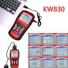 Car Fault Code Reader Engine Diagnostic Scanner Reset Tool OBDII Universal KW830