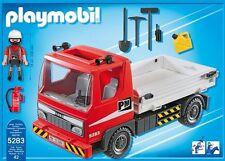 Playmobil city action 5283 plateau construction truck ** cadeau **