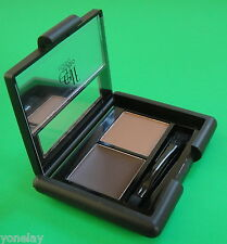 e.l.f. Studio DARK EYEBROW KIT elf Define Full Thick Eye Brow Set Wax Powder