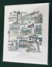 JAMESTOWN, RI ART  NOTE CARDS 5 TO PKG BY DONNA IDE