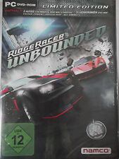Ridge racer unbounded-limited edition-guida, distruggere, dominare-Nuovo!!!