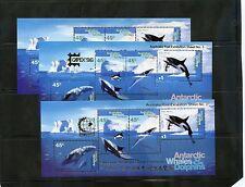 AUSTRALIAN ANTARCTIC TERR Sc L97a+(MI BL 1,1I,1II)*VF LH IN MARGIN,PHIL EX $100