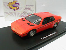 "Schuco ProR 08981 # BMW Turbo X1 Studie Baujahr 1972 in "" orange "" 1:43  NEU"