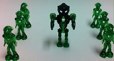 LOT 7 LEGO MARS MISSION GLOW IN THE DARK ALIEN  NINIFIGURES INCLUDE COMMANDER