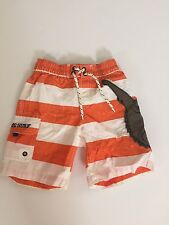 Gap babygap swimming short orange and white size 3