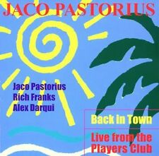 Jaco Pastorius - Back In Town - Live From The Players Club (Japanese Edition) CD