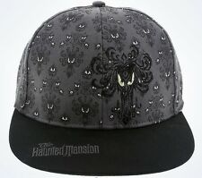 Disney Parks Haunted Mansion Wallpaper Baseball Cap Youth Size New With Tags