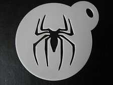 Laser cut small spider 1 design, cake,cookie,craft & face painting stencil