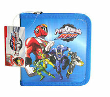 24 CD DVD Organizer Storage Case Power Rangers Blue NEW