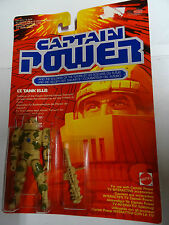MATTEL - CAPTAIN POWER - LT. TANK ELLIS