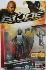 "GI JOE CYBER NINJA Wave 3 Hasbro Retaliation 2013 3.75"" INCH Action Figure"