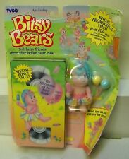 #7088 TYCO Bitsy Bears Beary Happy Bear & VHS Video