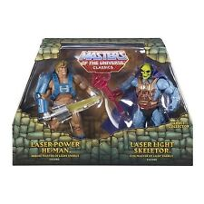 MASTERS OF THE UNIVERSE CLASSICS LASER POWER HE-MAN & LASER LIGHT SKELETOR CGP42