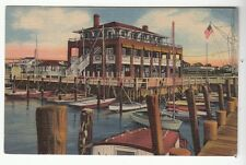 [53588] 1954 POSTCARD LITTLE EGG HARBOR YACHT CLUB, BEACH HAVEN, NEW JERSEY