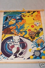 NEW IN PACKAGE POKEMON MINI BAMBOO WALL SCROLL POCKET MONSTERS