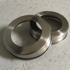 2x Stainless Steel Soap Lid Bands for Mason, Ball Jars