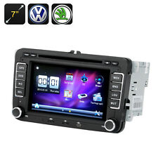2 DIN Car DVD Player - 7 Inch Screen,GPS, Bluetooth, For VW + Skoda Cars