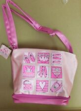 New/ Tag Horizon Dance Satin Square Bottom Tote Pink Shoes Dance Gear girls
