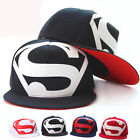 Hot Fashion Men's Unisex Snapback adjustable Baseball Cap Hip Hop hat Superman