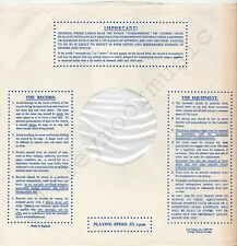 "Vintage INNER SLEEVE or SLEEVES 12"" IMPORTANT! THE RECORD EQUIPMENT dots v8 x 1"