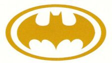 Batman highly reflective yellow fire helmet die cut decal yeti window sticker