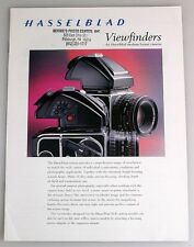 HASSELBLAD VIEW FINDERS INFORMATIONAL BOOKLET