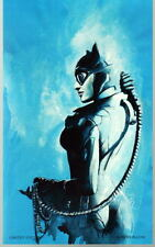 CATWOMAN Print HAND SIGNED by ROB PRIOR Smaller Version Batman w COA