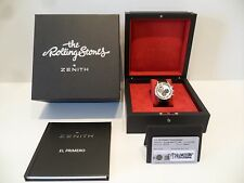 ZENITH El Primero Chronomaster 1969 Rolling Stones LIMITED EDITION 217/250 NEW!